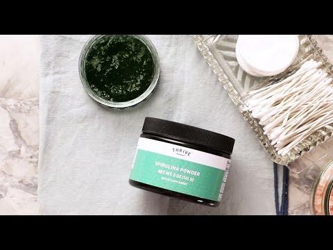 Spirulina Seaweed Face Mask