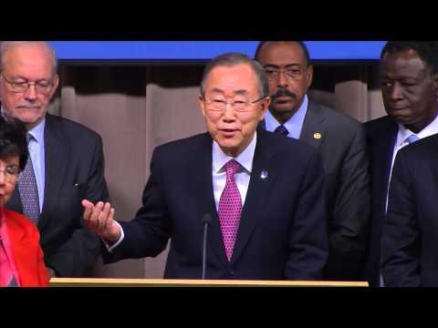 Ebola Reponse: Ban Ki-moon, Jim Yong Kim & Margaret Chan - Press Conference (21 Nov 2014)