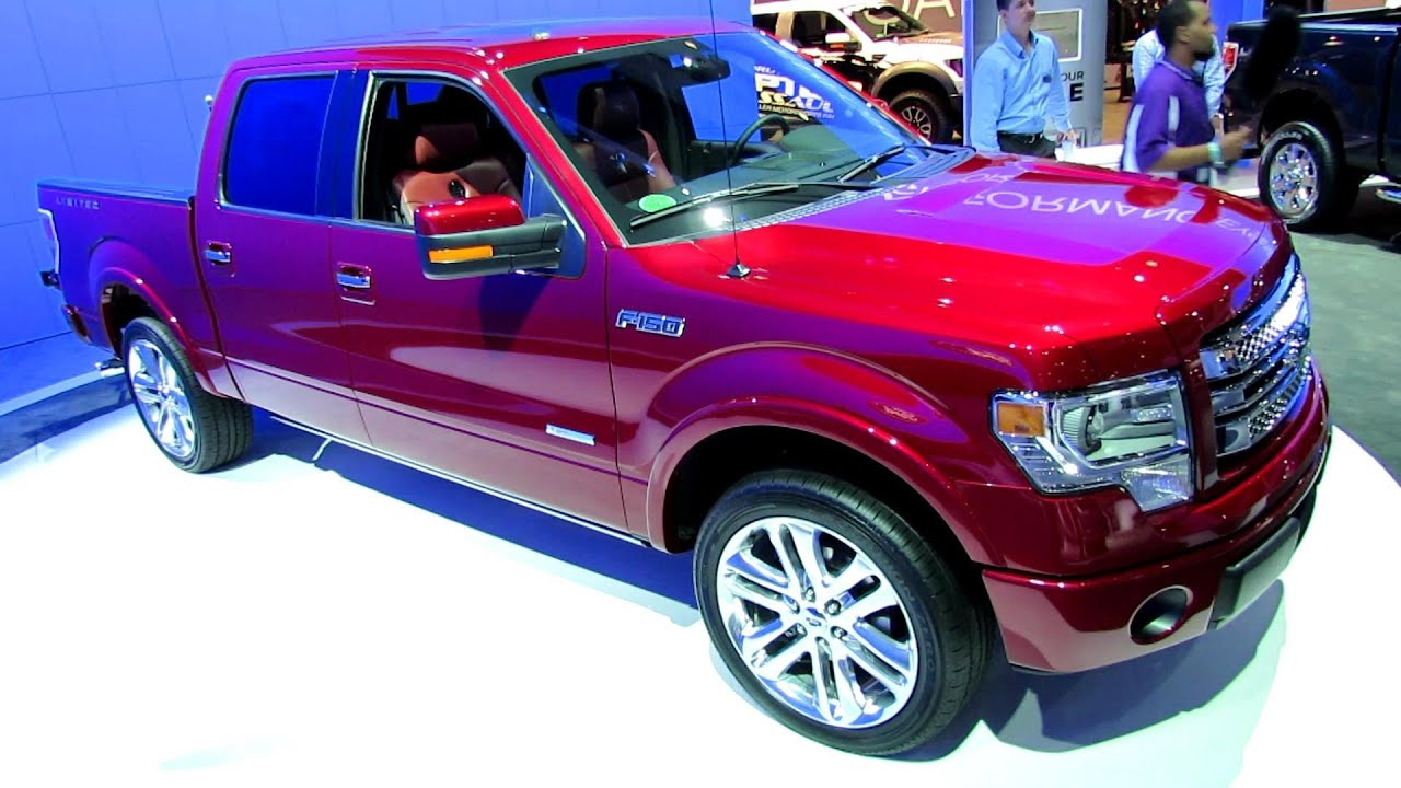 2013 ford f 150 limited exterior and interior walkaround 2012 los angeles auto show youtube. Black Bedroom Furniture Sets. Home Design Ideas