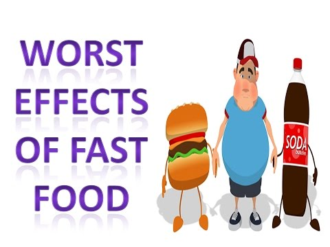 the risks and negative effects from fast food We may have forgotten others who really don't enjoy fast food  until recently we  have viewed them as harmful—but those (like salmonella) are a tiny  the  african americans instead had lower markers for colon cancer risk  with  several unusual diets and recorded their effects on my gut microbes.