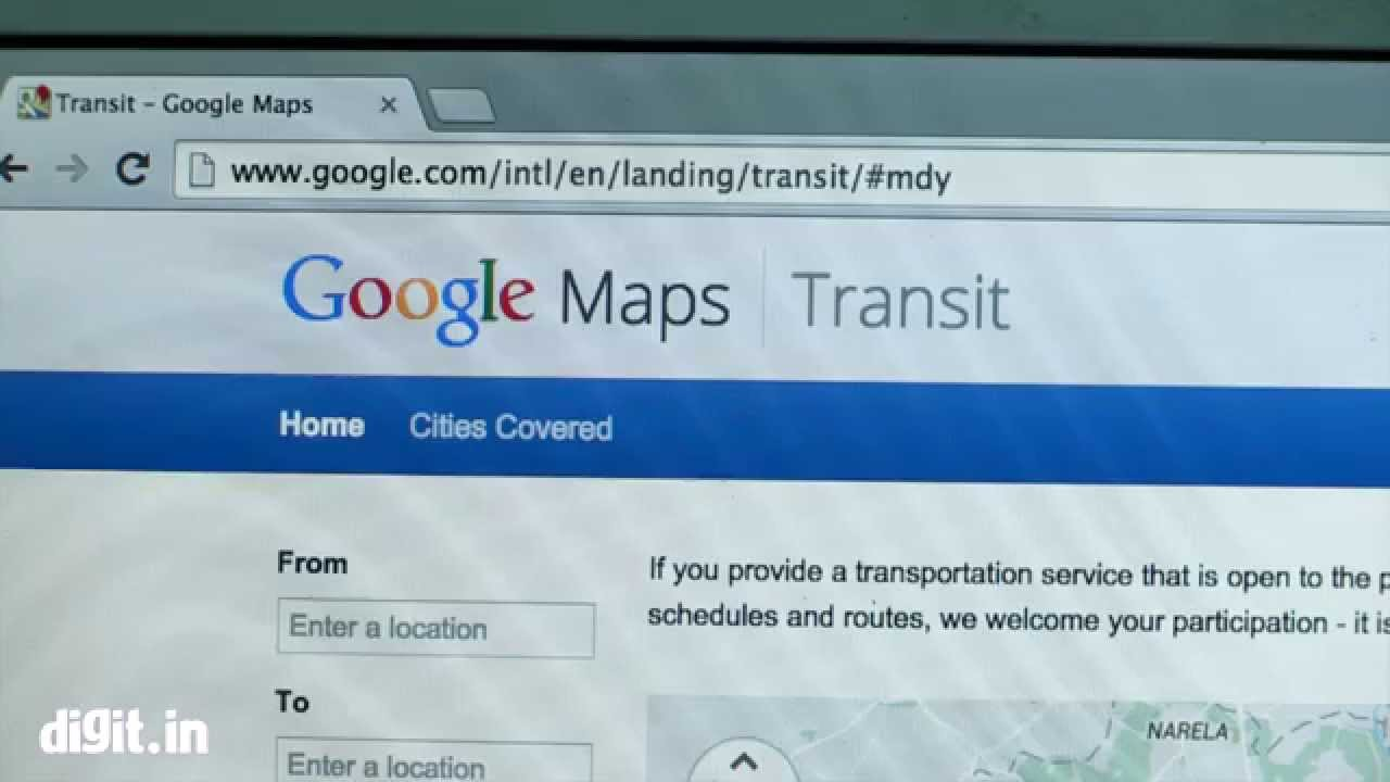 Indian Railways schedule now available on Google Maps