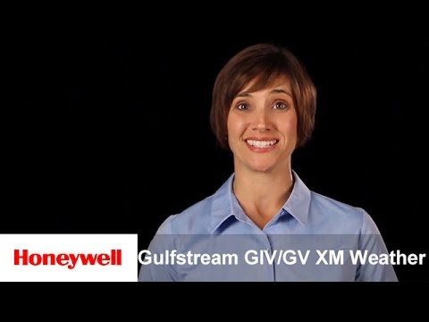Honeywell Primus Elite® for the Gulfstream GIV/GV XM Weather | Training | Honeywell