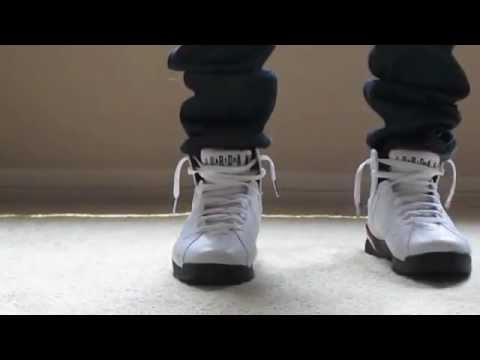 af62c12a092e92 Jordan Cardinal 7 s (ON FEET) - YouTube