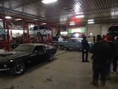 French Lake Auto >> Boss 429 Mustang Fast, and Loud filming at French Lake Auto Parts. - YouTube