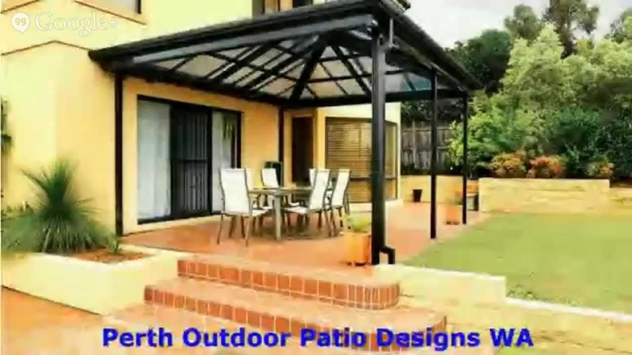 Finding a good outdoor perth patio wa builder youtube for Find a good builder