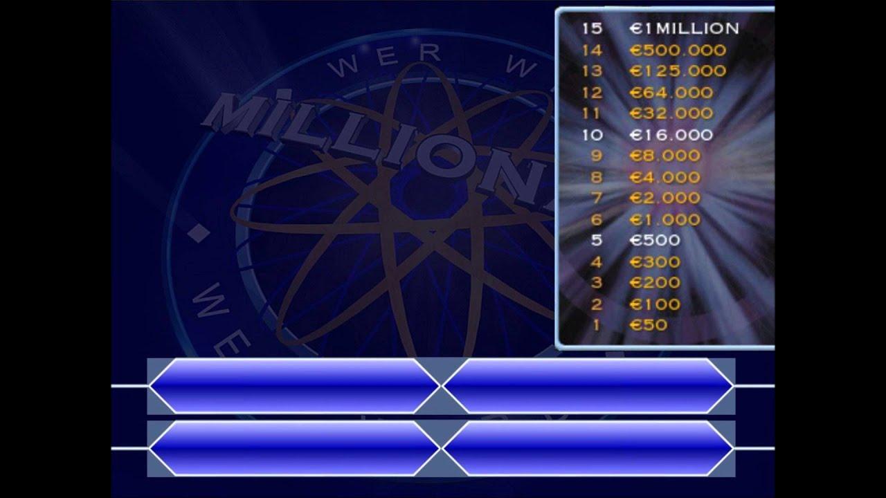Wer Wird Millionär Spiel Eigene Fragen