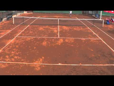 Tennis Europe Sanches Casal U12   6 2 2014 Dani won 6-2  6-1