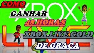 COMO GANHAR 48 HORAS DE LIVE GOLD GRÁTIS!!! [ FUNCIONANDO ]