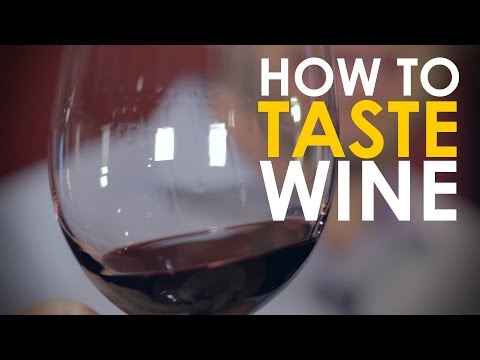 How to Taste Wine | The Art of Manliness
