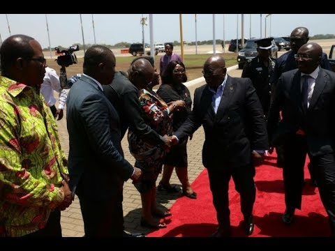 President Akufo-Addo back home after attending Solar Alliance Summit in India
