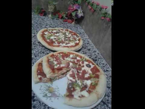 صورة  طريقة عمل البيتزا طريقة عمل البيتزا باللانشون رووعه طريقة عمل البيتزا من يوتيوب