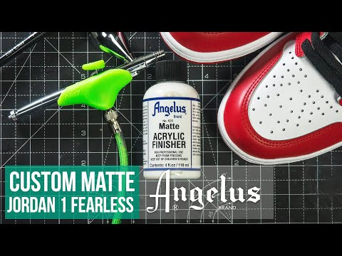Custom Matte Air Jordan 1 Fearless