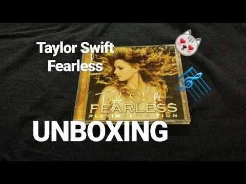 TAYLOR SWIFT FEARLESS (PLATINUM EDITION) | UNBOXING