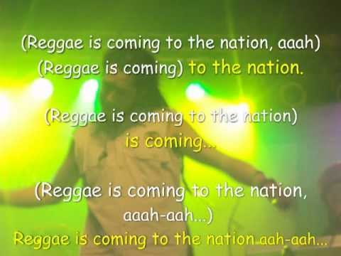 Gondwana - Reggae is Coming (+ Letra)