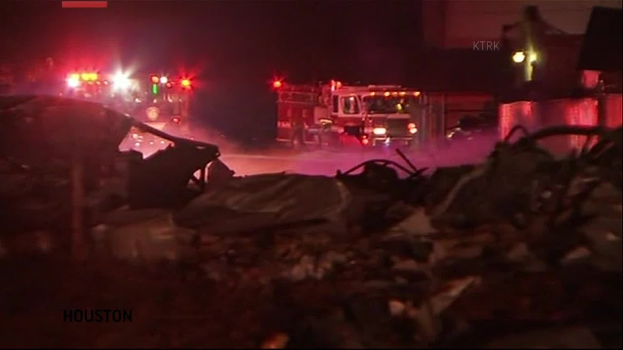 Police: 2 Dead After Building Explosion Shakes Houston, Damages ...