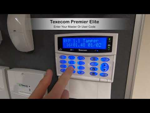 Texecom Premier Elite Reset After Fault