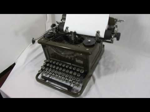 1936 L.C. Smith & Corona Typewriter~Rising Phoenix Antiques