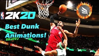 NBA 2K20 HOW TO GET CONTACT DUNKS EVERYTIME! BEST DUNK ANIMATIONS TO PUT ON!