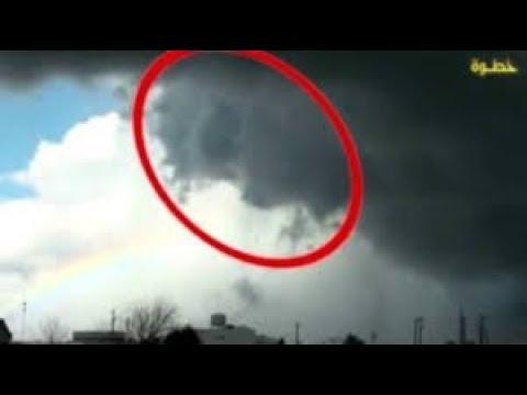 معجزة ظهور ملائكة الرياح في إعصار إيرما بأمريكا Youtube