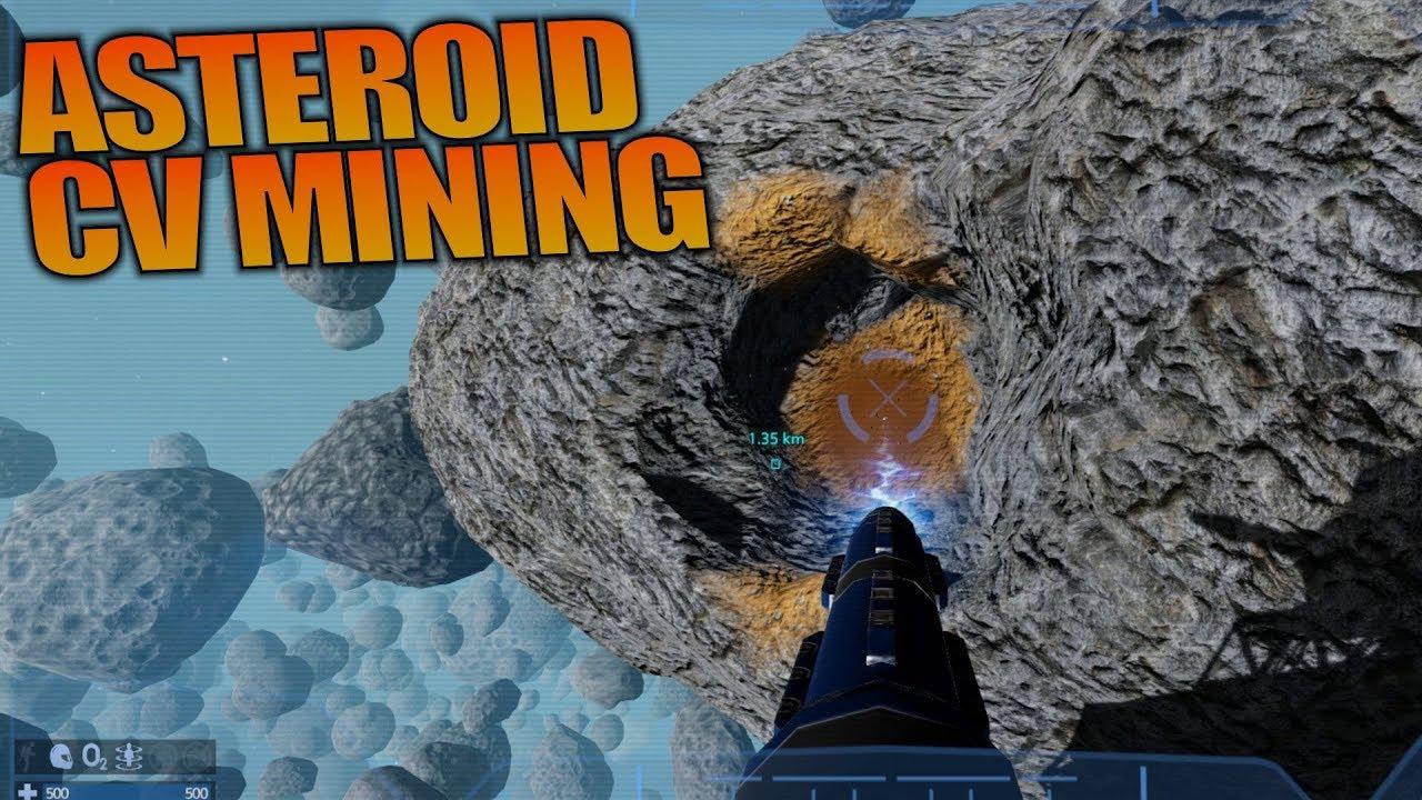 asteroid cv mining