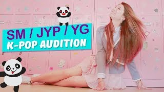 K-POP AUDITION | SM, Big Hit, JYP, YG Entertainment