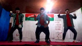 Sainik School Manasbal Cultural Program-Group Dance October 2015