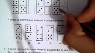 Raciocinio logico sequencial-  questão 3