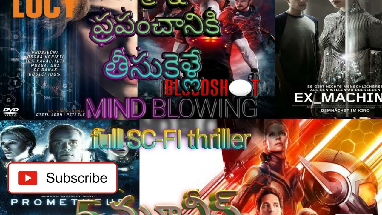 Download Top 5 horrer hollywood telugu dubbed movies || full sc-fi movies|| Lucy ||ant-man || promothius