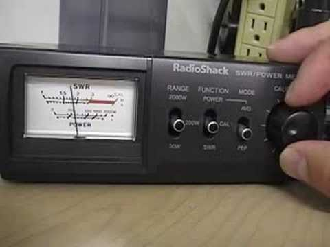 How To Use A Swr Meter Cbradiomagazine Youtube