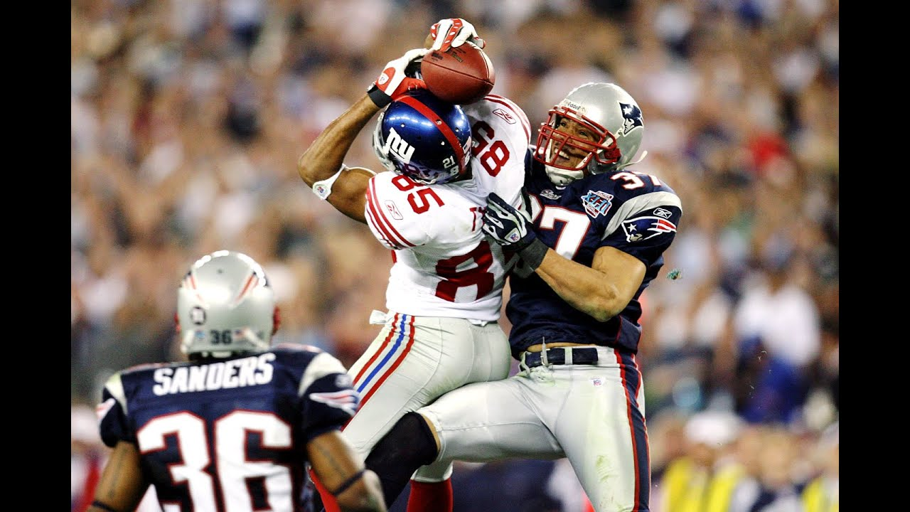 Resultado de imagem para giants vs patriots super bowl 2008