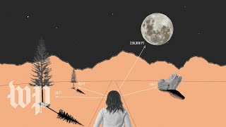 YouTube動画:Why does the moon look so much bigger when it's on the horizon?