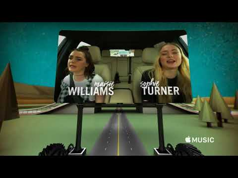 Thumbnail: Carpool Karaoke: The Series - Sophie & Maisie Opening Preview -- Apple Music