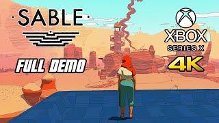 Sable - Gameplay Walkthrough - Full Demo (Xbox Series X, 4K)