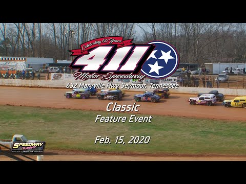Classic Feature @ 411 Motor Speedway Feb  15, 2020