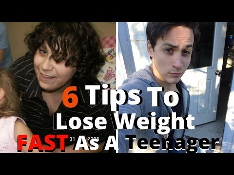 6 Tips To Lose Weight Fast As A Teenager | How I Lost 50 Pounds In 3 Months At 14 Years Old