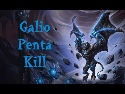 PENTAKILL Galio AP Jungle