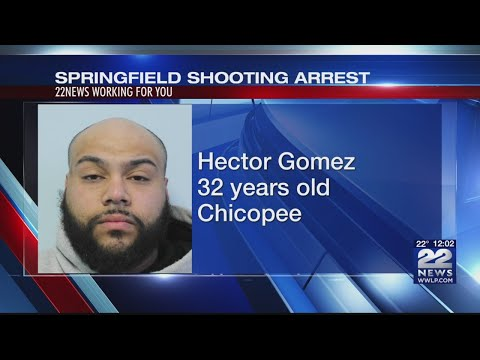 Chicopee Man Arrested In Connection With Springfield Shooting