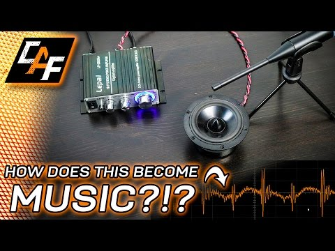 That's a music signal?  - Audio AC Waveform Tutorial