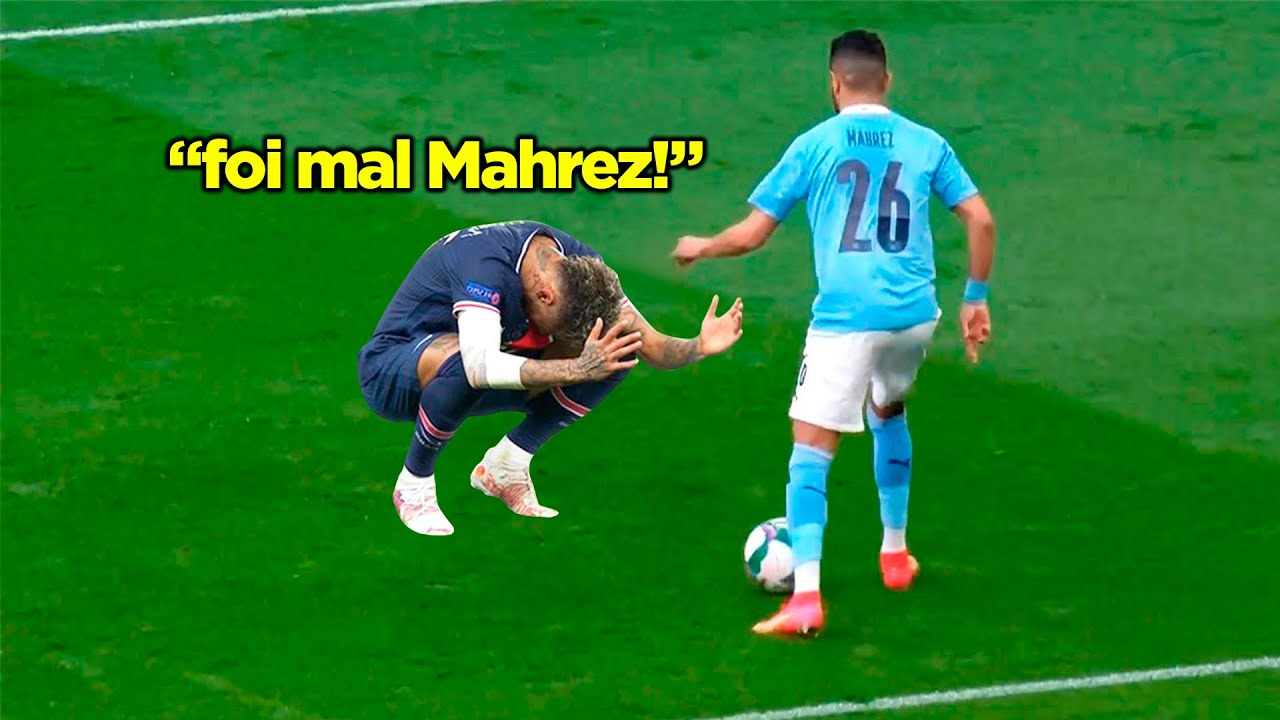 MAHREZ É REALMENTE UMA BESTA ENJAULADA COM ÓDIO!!! MAHREZ DESTRUIU O PSG!!!
