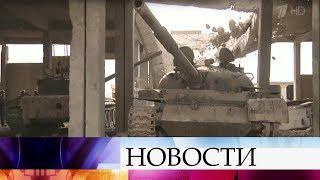 Сирийская армия преследует остатки формирований исламистов вокрестностях Акербата
