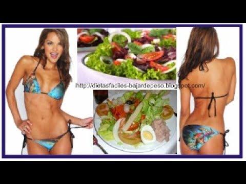 ?? Dietas faciles para bajar de peso en una semana   Dieta para adelgazar rapido
