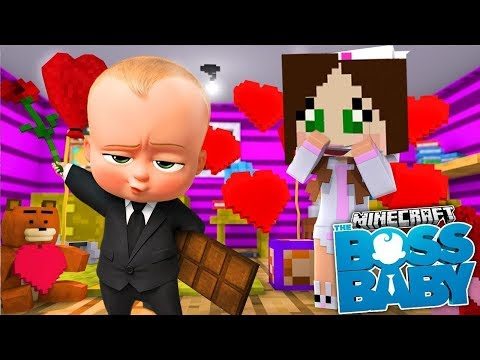 PopularMMOs Pat and Jen Minecraft BABY BOB LOVE ♡ CHALLENGE GAMES Lucky Block Mod Modded Mini Game