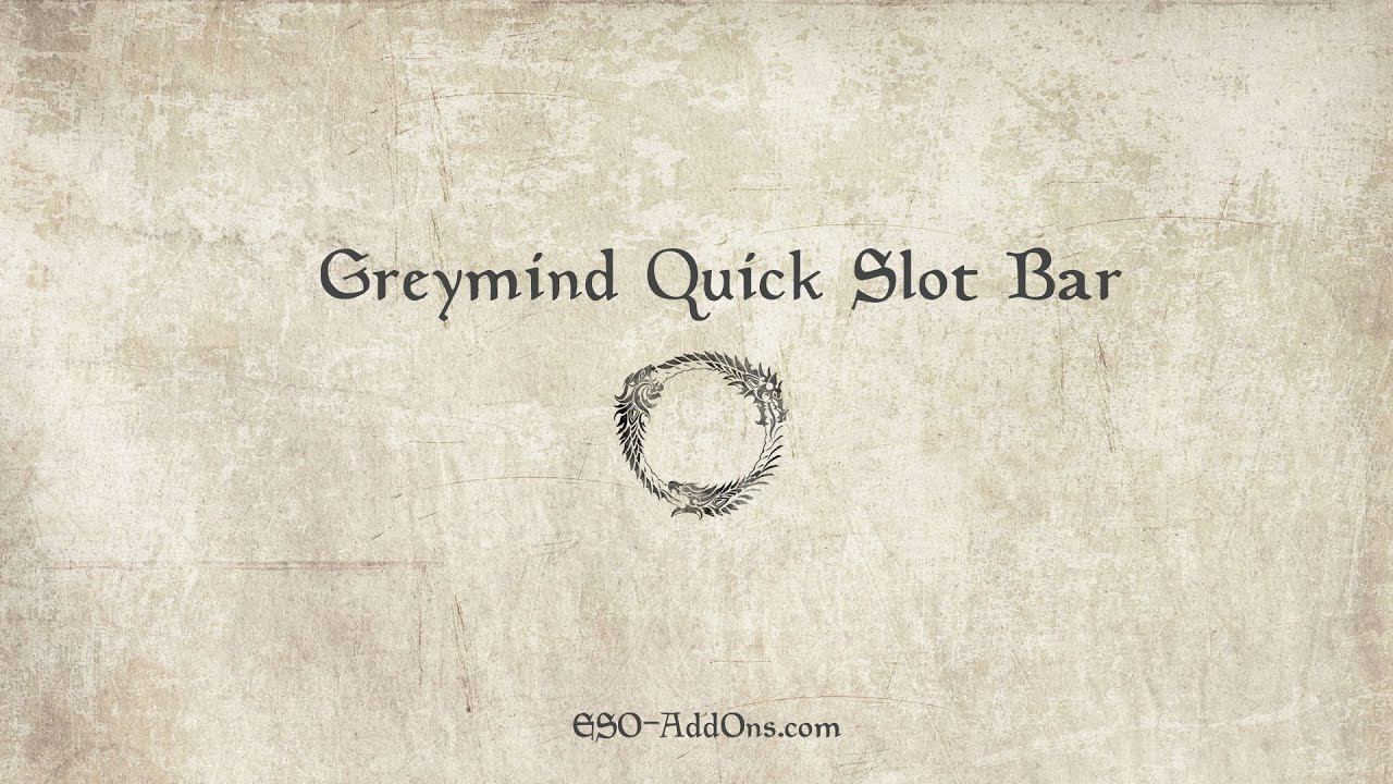 Eso Quick Slot Bar Addon - Add-On Overview and Review of