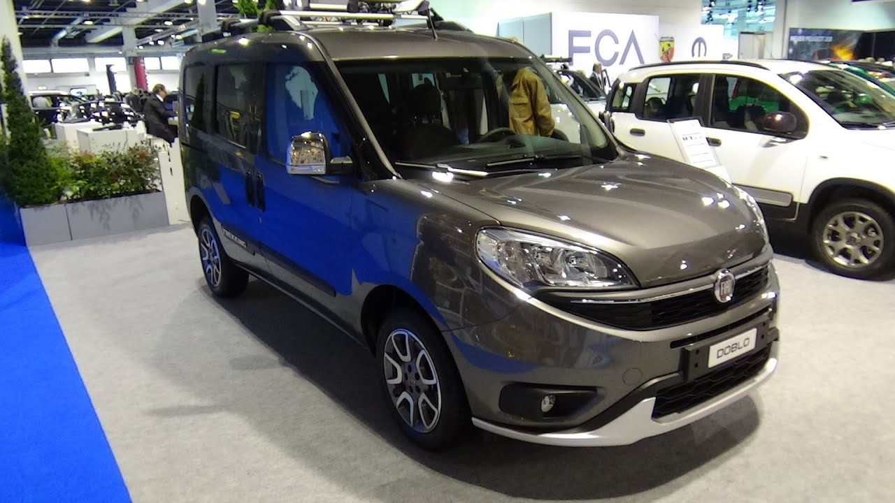 2016 fiat doblo trekking exterior and interior. Black Bedroom Furniture Sets. Home Design Ideas