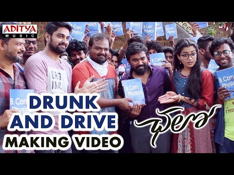Drunk and Drive Making Video || Chalo Movie || Naga Shaurya, Rashmika