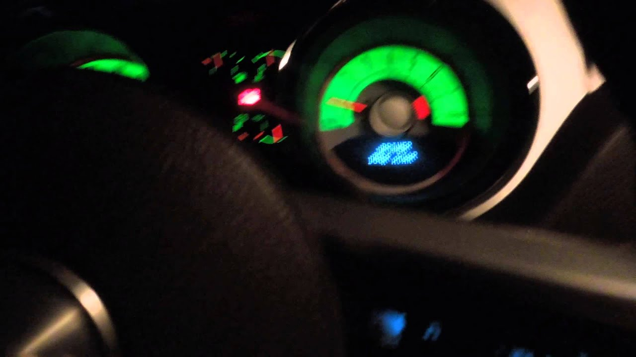 How To Make Your Dashboard Lights Change Colors Inside The 2010 Mustang Gt Premium