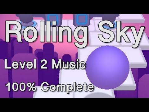 Rolling Sky Level 2 Music 100% Complete