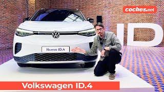 Volkswagen ID.4 | Primer Vistazo / Preview en español | SUV Electrico | coches.net