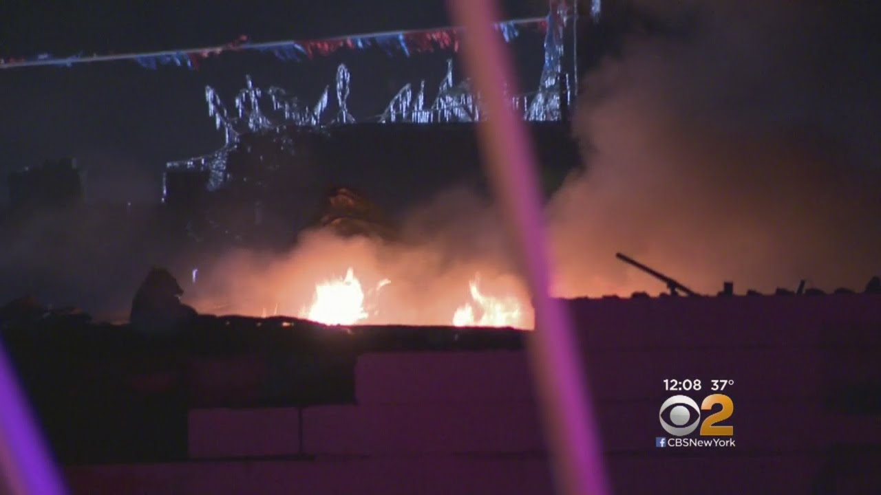 Classic Cars Destroyed In Mineola Fire Youtube