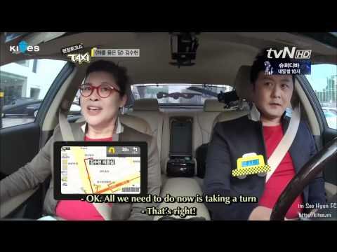 (Engsub) TvN's Taxi. Kim Soo Hyun. Ep 233 Part 1/4